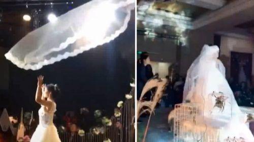 عروسی لاکچری در تهران همراه با پورشه های عروس و داماد + انواع خبرهای جذاب عروسی
