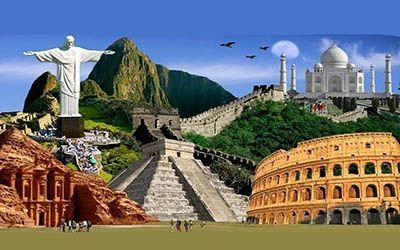 آشنایی با عجایب هفت گانه جهان + معرفی مکان های مرموز دنیا