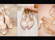 مدل کفش عروس 2019 شیک پاشنه بلند و پاشنه تخت 1398 + راهنمای خرید