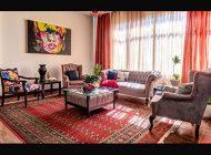 چیدمان منزل کوچک   تلفیق هنر اصیل ایرانی و هنر مدرن
