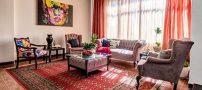 چیدمان منزل کوچک | تلفیق هنر اصیل ایرانی و هنر مدرن