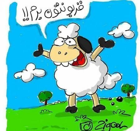 عید قربان مصاحبه طنز