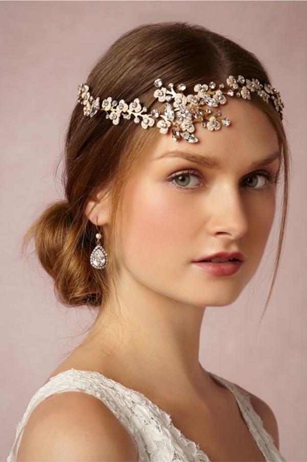 انواع مدل مو عروس و تاج عروس 2019 + نکات مهم رنگ کردن مو