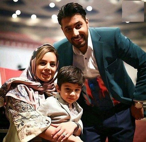 عکس های چهره های مشهور به همراه همسران و فرزندان شان