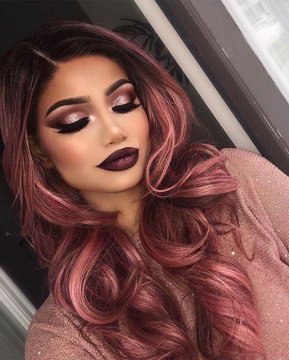 مدل مو های زیبای دخترانه رزگلد