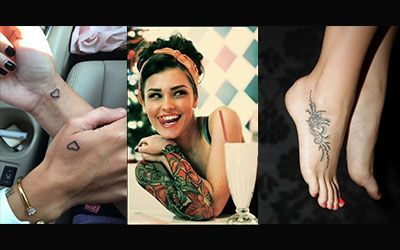 بهترین طرح های تاتو زنانه و دخترانه + تتو های دونفره