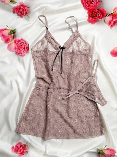 مدل های جذاب ژورنال لباس خواب زنانه توری | لباس خواب 2019 تحریک کننده