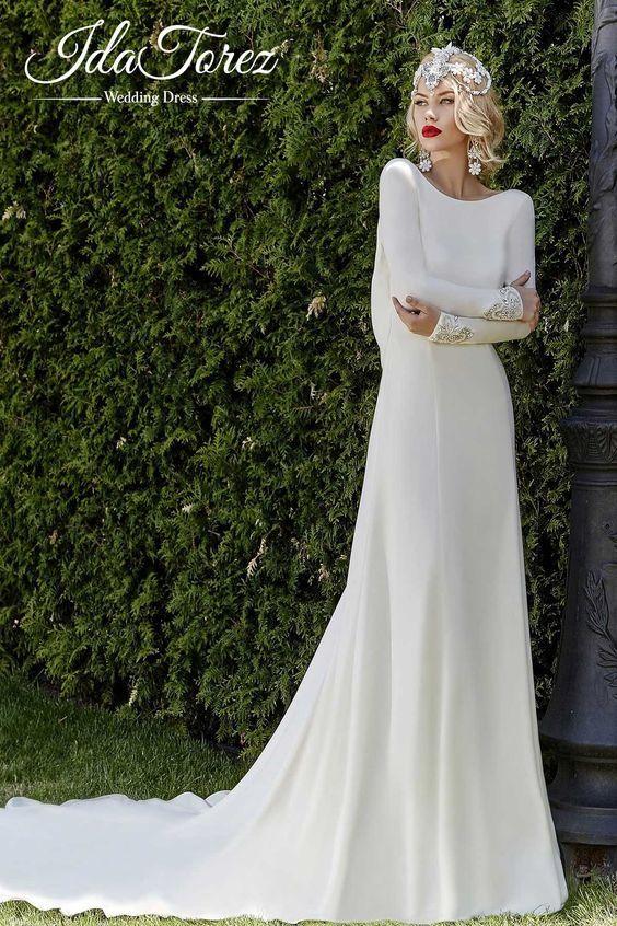 گالری مدل لباس عروس جذاب و پوشیده + راهنمای انتخاب بهترین لباس عروس