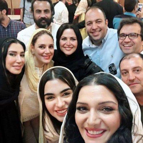 سوپر استارها در کنسرت مهران مدیری | خواندن ترانه سوغاتی مرحوم هایده