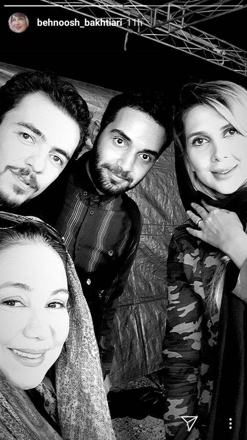 استوری های بازیگران و سلبریتی های ایرانی (13)