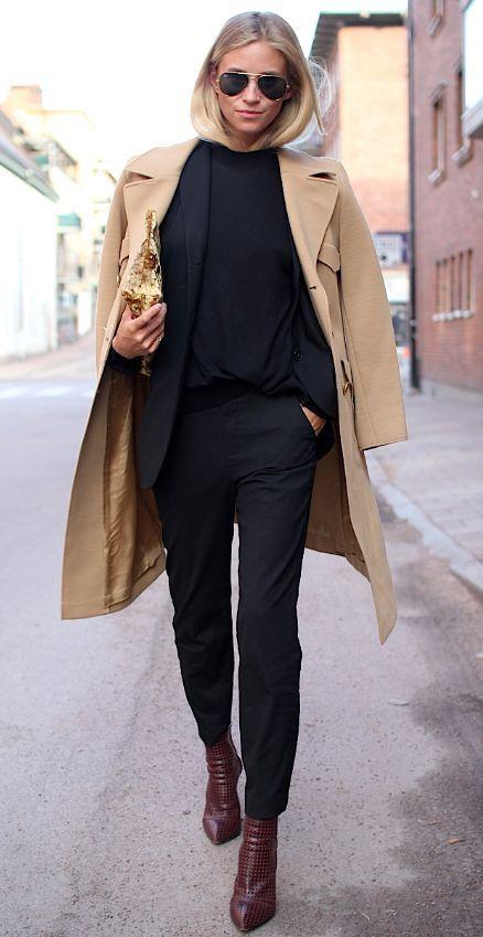 استریت استایل های پاییزی دخترانه 2019   مدل ست لباس پاییزی زنانه