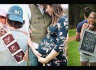 عکس های عاشقانه دوران بارداری | تو داری پدر می شی! | متن و عکس پروفایل دوران بارداری