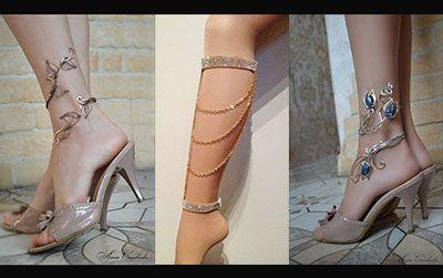 مدل های زیبای پابند زنانه | پابند را با چه چیزهایی ست کنیم؟