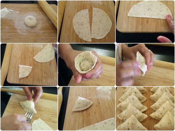طرز تهیه انواع سمبوسه با نان لواش و خمیر | گام به کام و تصویری