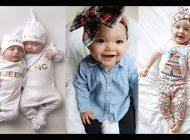زیباترین ست های نوزادی دخترانه و پسرانه   مدل لباس شیک برای نوزادن دختر و پسر