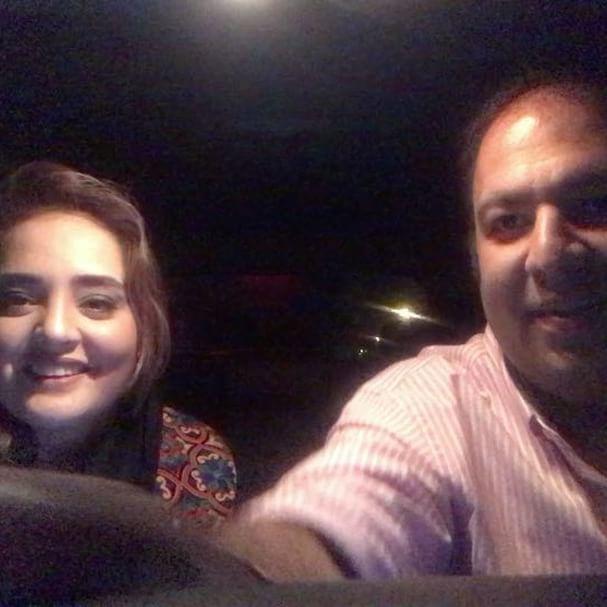 اینستاگردی با نرگس محمدی و همسرش علی اوجی