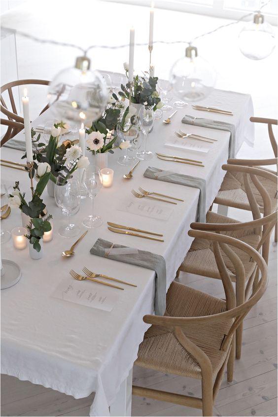 دکوراسیون و تزیینات میز عروسی شیک + آموزش نکات چیدمان میز عقد و عروسی