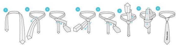 آموزش روش های مختلف بستن کراوات | گام به گام