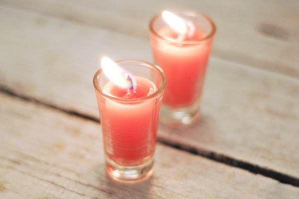 آموزش ساخت و بازسازی شمع های کهنه خانه   طرز تهیه شمع های زیبا