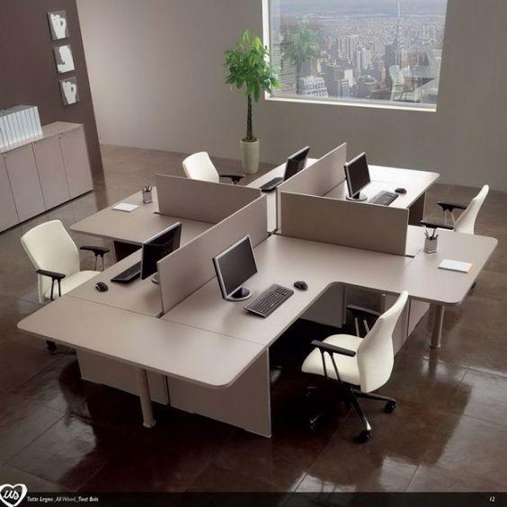 مدل دکوراسیون اداری و دفتر کار شیک + ایده برای چیدمان دکوراسیون اداری