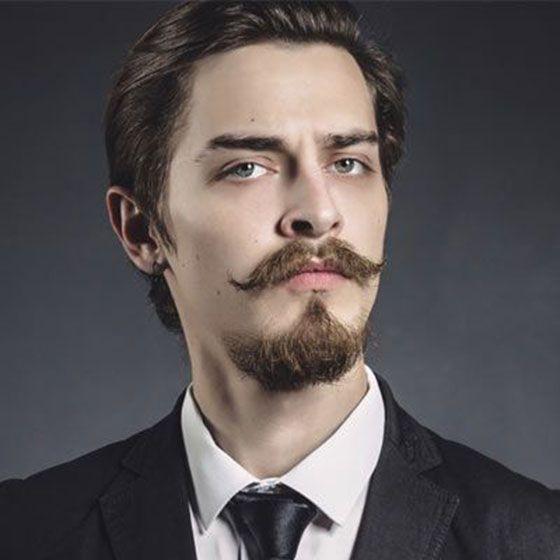 مدل های جذاب ریش پروفسوری مردانه + جذاب ترین مدل های سبیل