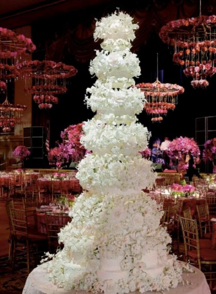 معرفی گران ترین لباس عروس های دنیا + گران ترین کیک های عروسی