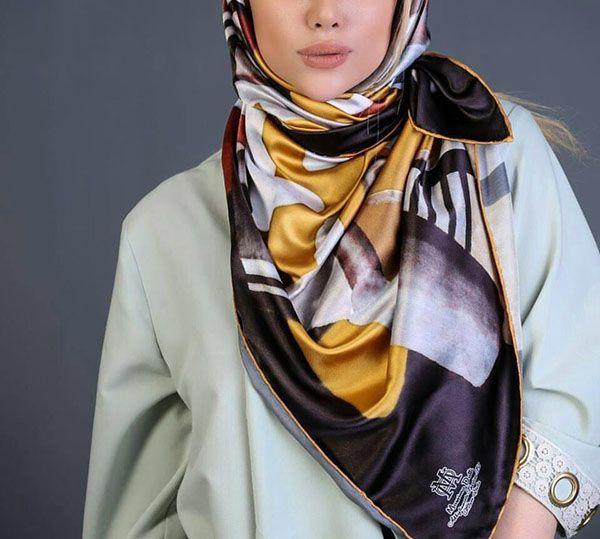 راهنمای خرید و انتخاب روسری + انواع مدل های شیک روسری 2020