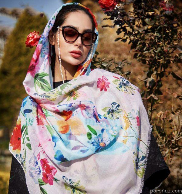 جدیدترین مدل های شال و روسری پاییزی 97 + راهنمای خرید بهترین شال و روسری