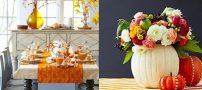 دکوراسیون پاییزی خانه + کار دستی های هنری پاییزی برای منزل