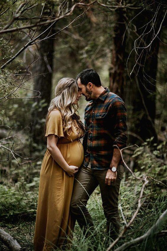 عکس پروفایل برای دوران بارداری | عکس های عاشقانه بارداری زن و شوهر