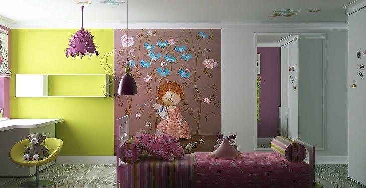 ایده های ساده و خلاقانه برای تزیین اتاق خواب دخترانه