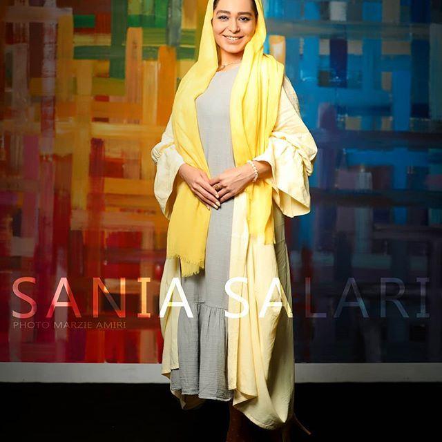 بیوگرافی سانیا سالاری و همسرش + مصاحبه و اینستاگرام + عکس های سانیا سالاری