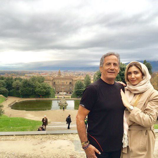 بیوگرافی نیکی مظفری دختر مجید مظفری و همسرش + عکس نیکی مظفری