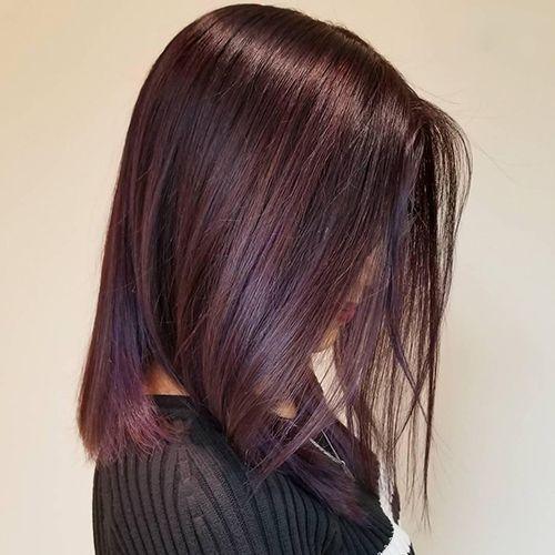 رنگ موهای مناسب برای زمستان 2019 معرفی شدند + عکس انواع رنگ مو