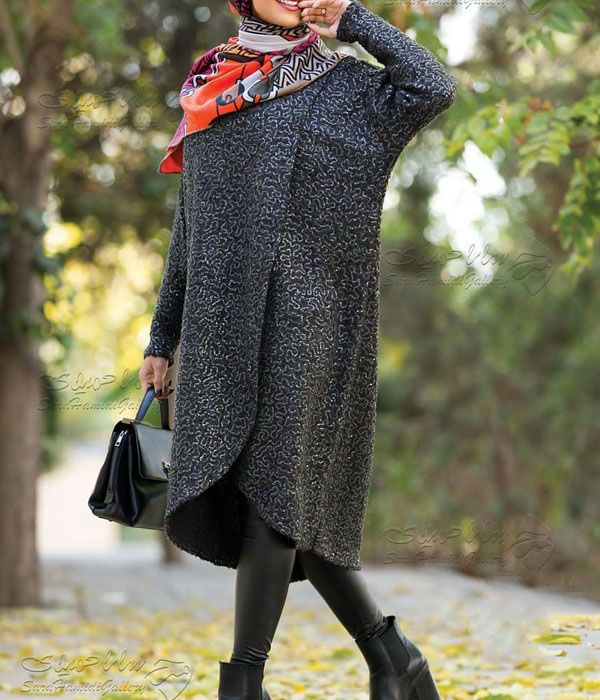 مدل مانتو زمستانی ایرانی 2019 | بهترین مدل های مانتو زمستانی