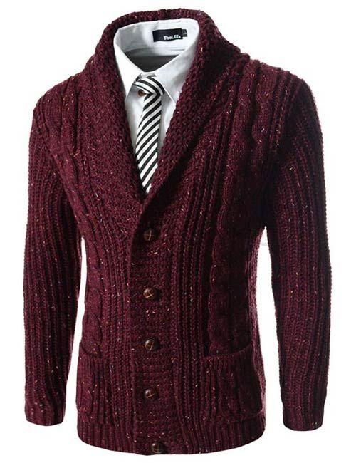 بهترین مدل های لباس و پلیور بافتنی مردانه + راهنمای خرید و ست کردن