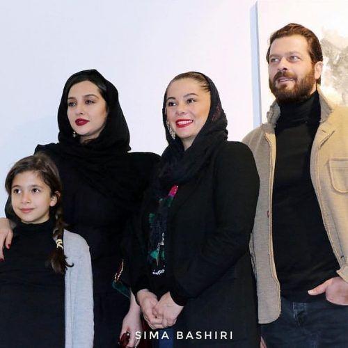 سلبریتی ها در نمایشگاه نقاشی آناهیتا درگاهی + اینستاگرام بازیگران ایرانی