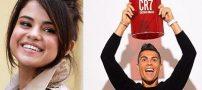 سلنا گومز و کریستیانو رونالدو پادشاه و ملکه اینستاگرام شدند +عکس