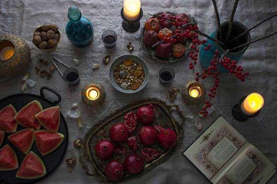 تزیین انار شب چله عروس + آموزش ایده های جدید و خاص برای شب یلدا عروس