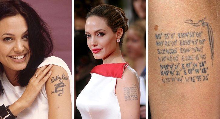 تاتوهای ستاره های مشهور چه معنایی دارد؟ | بررسی خالکوبی هالیوودی ها