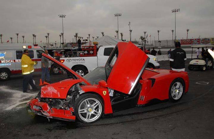 گران ترین تصادف های دنیا | نابود شدن خودروهای کهکشانی ها در یک ثانیه