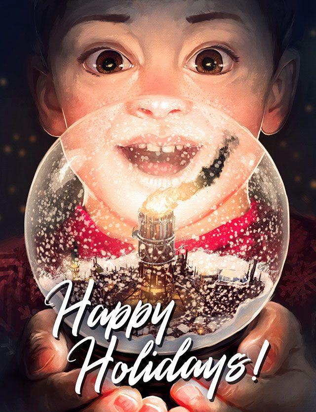 عکس تبریک کریسمس و سال نو میلادی 2019 + متن های تبریک کریسمس و سال نو ۲۰۱۹