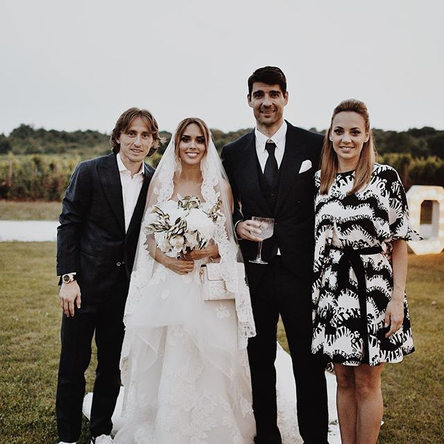 بیوگرافی لوکا مودریچ و همسرش + عکس های لوکا مودریچ + مصاحبه و اینستاگرام
