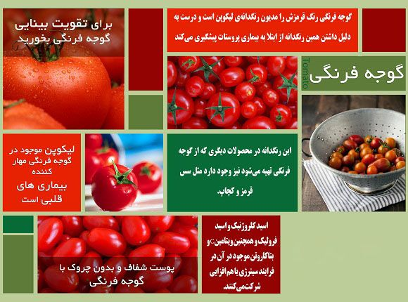 تمام فواید و مضرات گوجه فرنگی برای سلامتی و زیبایی