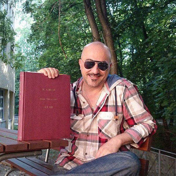 بیوگرافی هومن خلعتبری و همسرش + عکس های هومن خلعتبری + مصاحبه