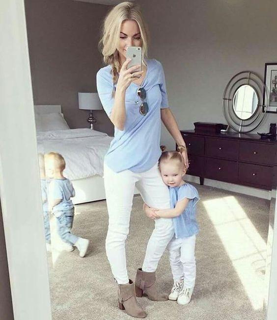 ست مادر و دختری | زیباترین ست های مادر و دختر + راهنمای ست کردن
