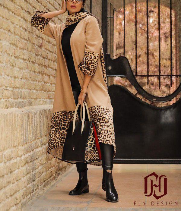 مدل مانتو عید جلو باز