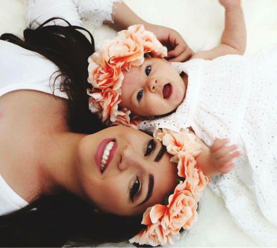 عکس پروفایل مادر و فرزند + متن های عاشقانه مادرانه برای نوزاد و کودک