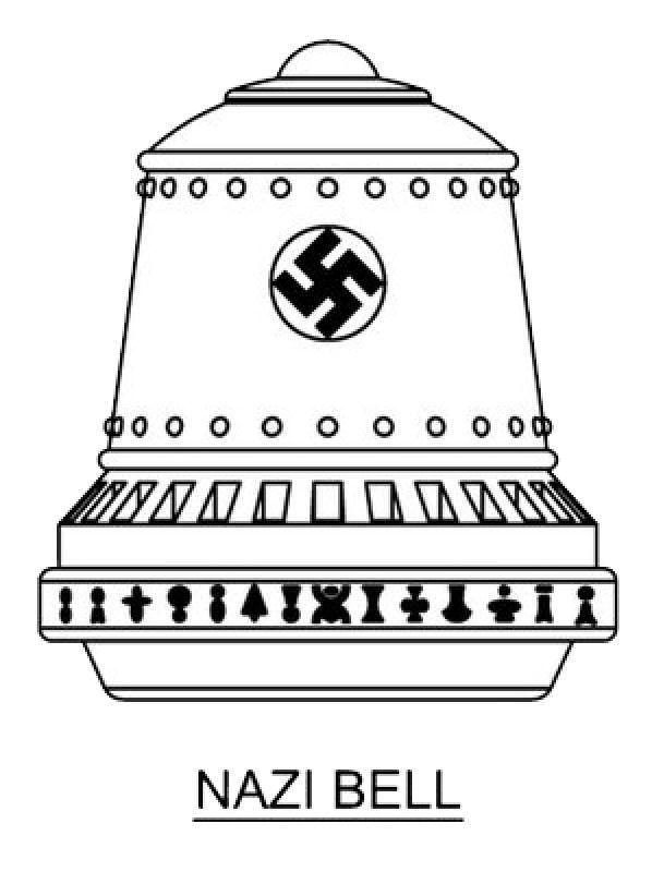 سلاح های نازی ها | بشقاب پرنده و ضد جاذبه آلمان نازی + عکس