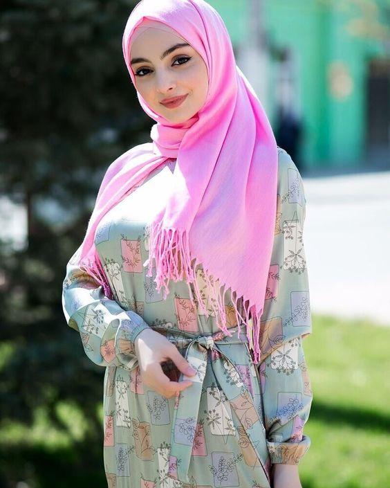 مدل شال و روسری 2021 عربی